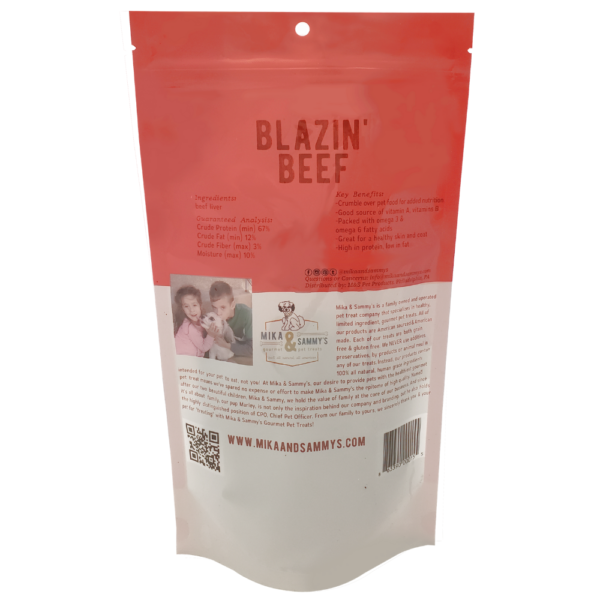Blazin' Beef treats