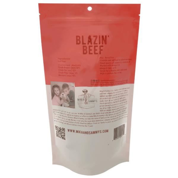 Blazin' Beef treats