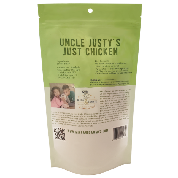 Uncle Justy's Just Chicken Treats