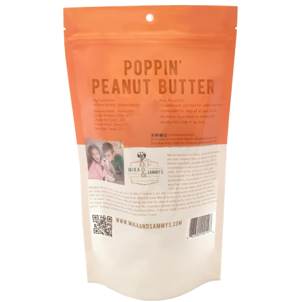 Poppin' Peanut Butter Treats