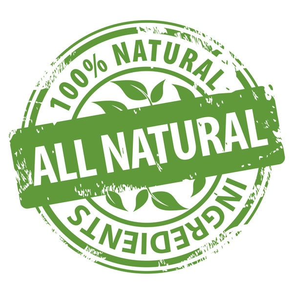 All-Natural Ingredients stamp